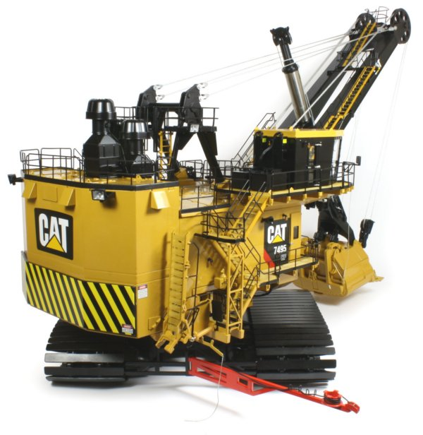 Caterpillar 7495HF Rope Shovel